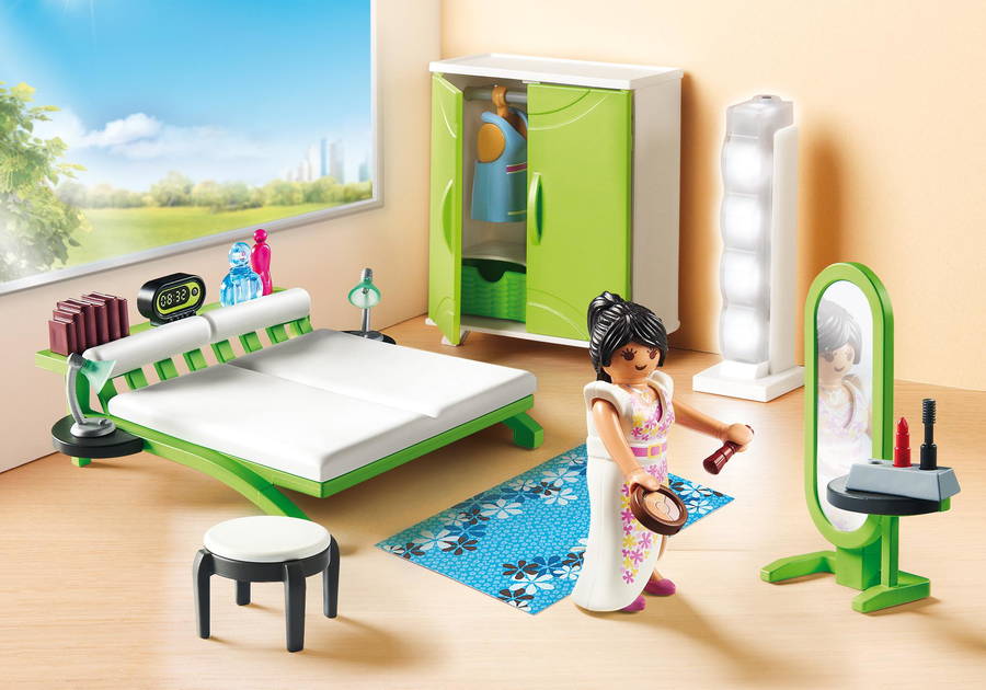 Playmobil 9271 camera da letto - Camera da letto my life ...