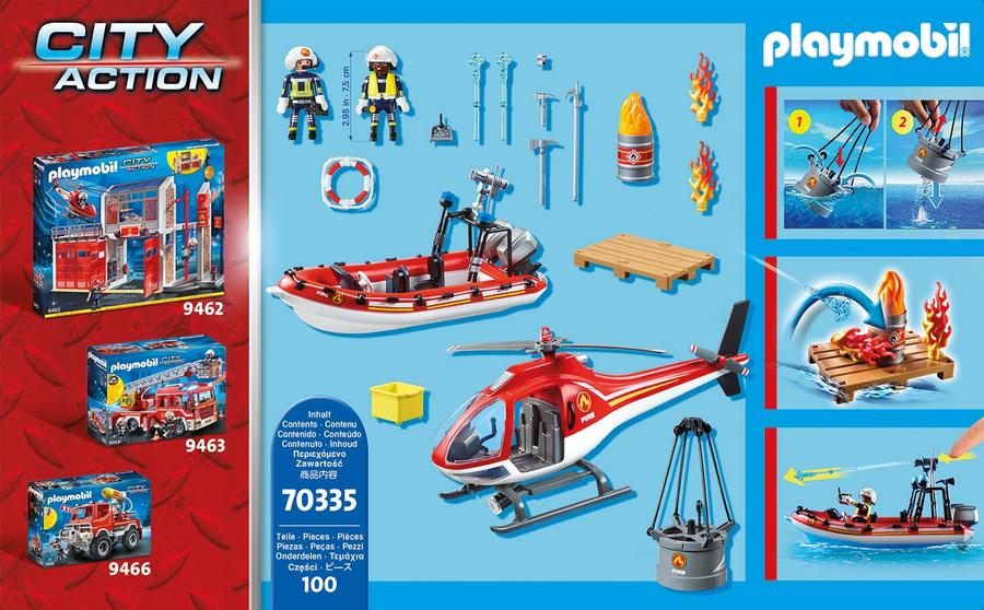 70335 SUPER SET MISSIONE ANTINCENDIO