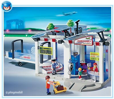 playmobil airport instructions 3353