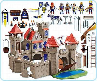 playmobil 3268 castello del re. Black Bedroom Furniture Sets. Home Design Ideas